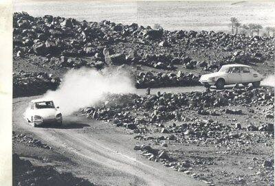 1968 ? Citroen DS in Rally ORIGINAL Factory Photograph wy3245