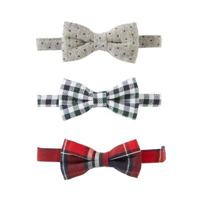 Mud Pie H7 Gentlemen Baby Boy Boxed Adjustable Bow Tie 1582150 Choose Design