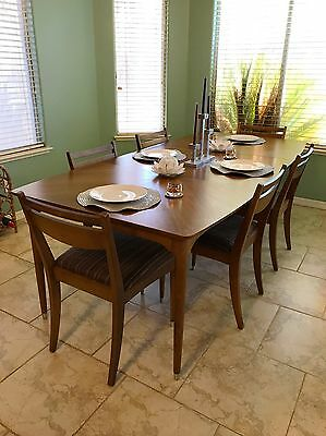 B.P. John Correlaire Mid Century Modern Dining Table & Chairs