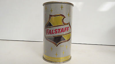 very clean flat top falstaff beer can ft wayne ind bottom opened