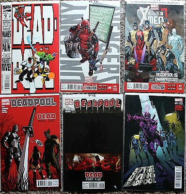Deadpool Comic Lot - Return of the Living Deadpool #1B Variant, #3, #50A, #54 • $9.95