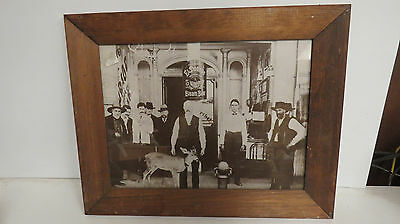 Early framed picture of the ElDorado steam beer brewing co stockton cal