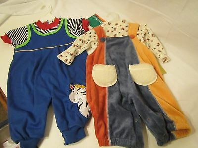 New w/tag 2 Vintage Baby outfits- healthtex, baby beluga---NEW