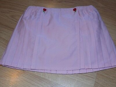 Size 3T 36 Months Gymboree Tip Toe Tulip Pink Pleated Skirt New NWT $22