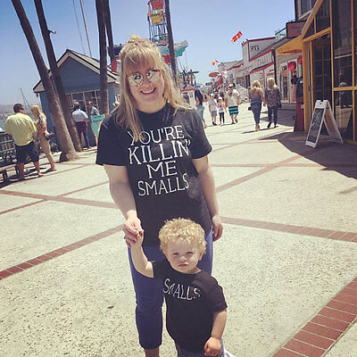 Family Top Clothing Mother Parent-Child Daughter Son T-shirt Matching Outfit