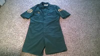 Original Otis Elevator Coveralls( Jumpsuit) Modified For Fishing New Never Used