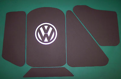 Volkswagen Corrado VR6 Heat Shield Hood Liner With or Without VW Emblem