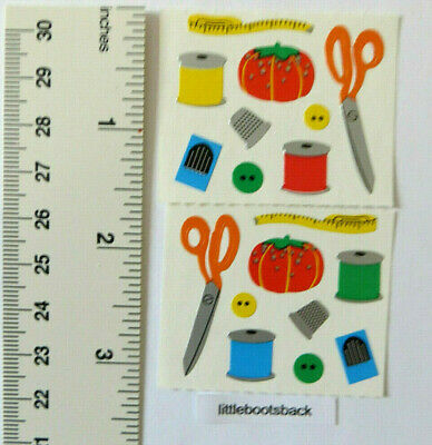 Mrs Grossman *SEWING ITEMS* Half Strip or 2 Modules of Stickers