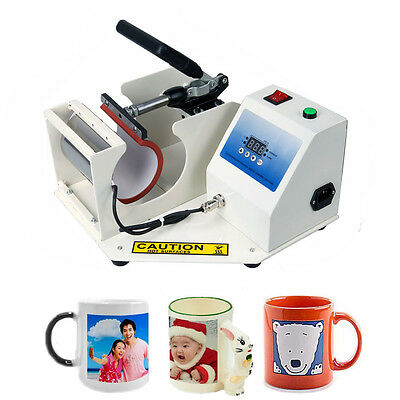 11oz Digital Transfer Mug Heat Press Machine Automatic Cup Sublimation 350W