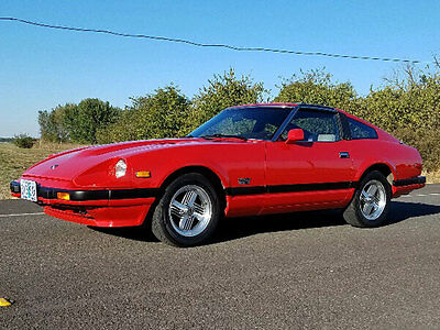 1982 Datsun Z-Series Turbo Coupe 1982 Datsun 280ZX Coupe Turbo 280 ZX, 58,068 documented miles, Red, excellent 82