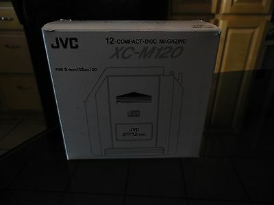 Jvc  12-Compact Disc Magazine Xc-M120 New Old Stock Nos Ships Fast