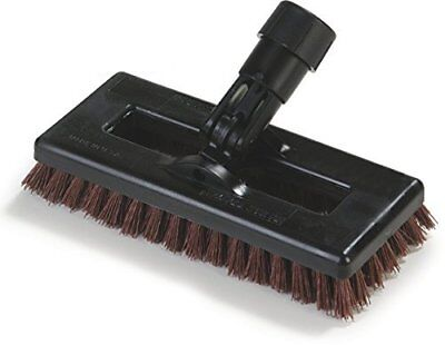 "Carlisle 36531027 Swivel Scrub Brush, 8"", Rust"