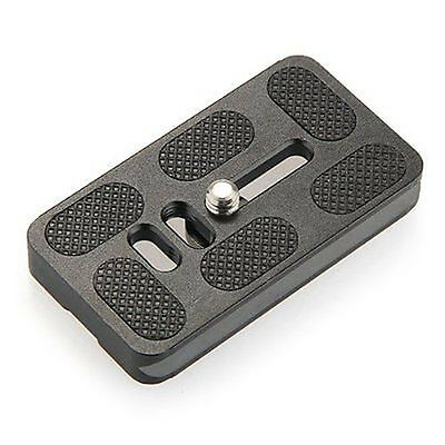 "PU 70 Quick Release Plate Bracket 1/ 4"" Screw for Benro Arca Swiss QR (black) N3"