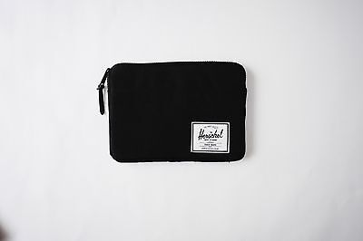"Herschel Anchor 9.7"" 10"" iPad Original Air Pro 1 2 3 4 Sleeve Case Black £40"