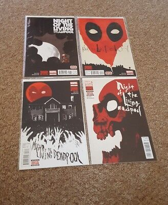 Night of the Living Deadpool #1-4, Marvel Comics