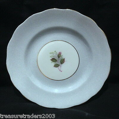 ♡ Gorgeous Vintage Duck Blue Speckled &rosebud Side Plate Royal Standard England