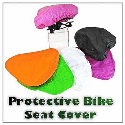 Bike Bicycle SADDLE Seat Showerproof Water Proof Rain COVER Protector One Size