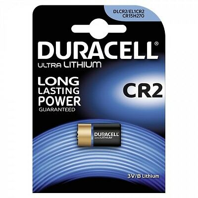 Duracell Ultra Lithium Photo CR2 DLCR2 ELCR5, 1er Blister, MHD 2024