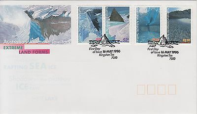 1996 Antarctic Landscapes FDC