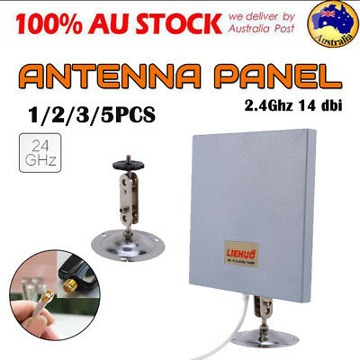 1/2/3/5X Antenna Panel 2.4Ghz 14 dbi High Gain WiFi Wlan SMA Directional Range