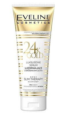 Eveline Cosmetics 24K Gold Luxury Body Serum With Particles Slim Therapy