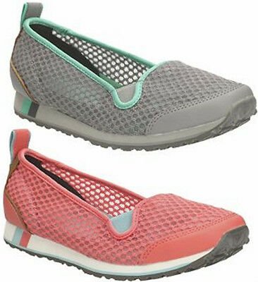 Sale Ladies Clarks Incast Pump Lightweight Slip On Sports Athletic Cushion Shoes