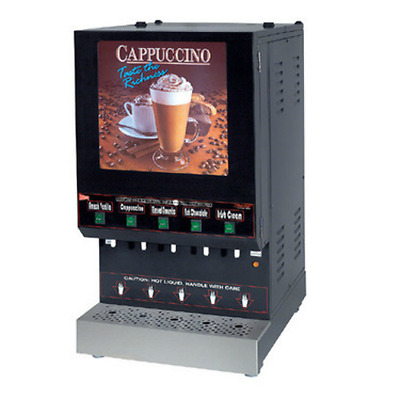 Cecilware GB5M REFURB 5 Flavor Commercial Cappuccino Machine &Wrty Crt WILL SHIP