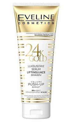 EVELINE COSMETICS 24K GOLD LUXURY LIFTING BUST SERUM PUSH-UP EFFECT 2,5cm