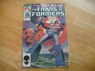 The Transformers #1 Of A 4 Part Lim Series (7.0 Fn/vf)-Marvel 9/84-Very Hi-Grade