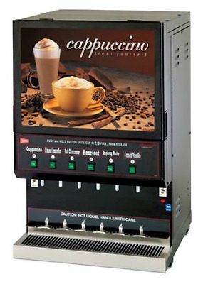 Cecilware GB6M REFURB 6 Flavor Commercial Cappuccino Machine &Wrty Crt WILL SHIP