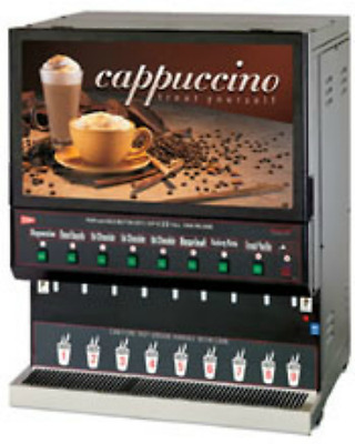 Cecilware GB8M REFURB 8 Flavor Commercial Cappuccino Machine &Wrty Crt WILL SHIP
