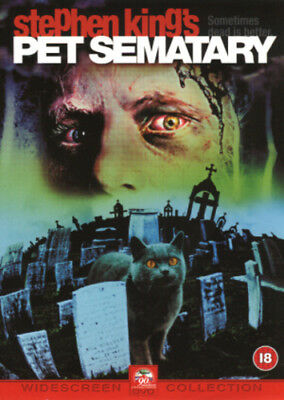 Pet Sematary DVD (2002) Fred Gwynne ***NEW***