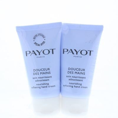 Payot Nourishing Softening Hand Cream 2 x 50ml