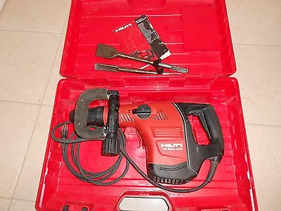 Hilti Te 500 Avr Chipping Hammer Demolition With 2 Bits