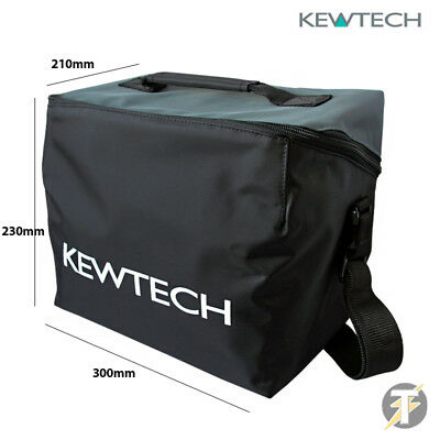 Kewtech KITBAG2 Large Padded Carry Case for Multifunction & PAT Testers & Tools