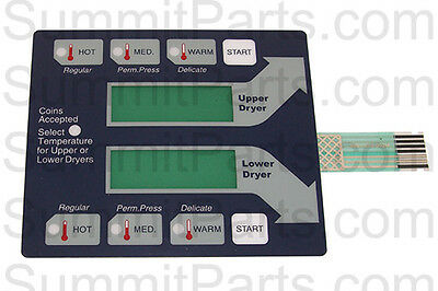Stack Dryer Membraine Switch, Old Style For Dexter - 9801-059-002