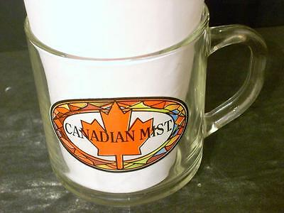 Canadian Mist Glass Cup Mug  (Q2)