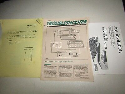 Fluke Micro-System Troubleshooter 9010A Service + Other Document