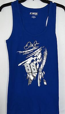 Dale Earnhardt Jr G-III Nascar For Her Ribbed Tank Top Size L