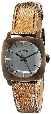 Nixon Women's Luca Stainless Steel Watch with Leather Band