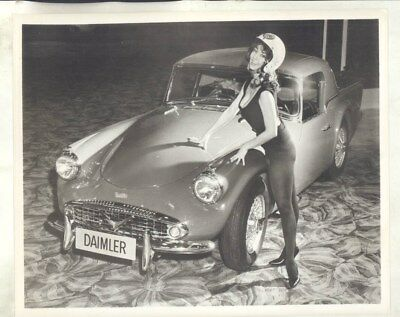 1962 ? Daimler SP250 & Model ORIGINAL Factory Photograph wy3303