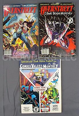 Overstreet Price Guide #17 September & #18 October Comics Value Monthly #83 July