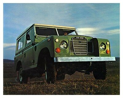 1973 Land Rover Factory Photo ca8576