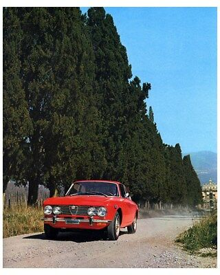 1972 1973 Alfa Romeo 2000 Spider GTV Berlina Factory Photo ca8581