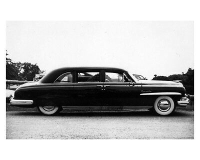 1950 Lincoln Cospolitian White House Fleet Limousine Factory Photo ca8587