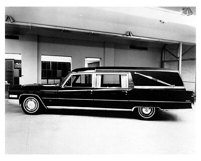 1966 Cadillac Miller Meteor M&M Hearse Factory Photo ca8588
