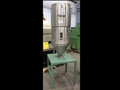 300 lb. *Dri-Air* RH300 Insulated Stainless Hopper on Stand