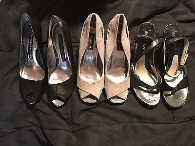 Used High Heel Lot - set of 3 - Chinese Laundry, BCBGirls, Style & Co - size 5.5