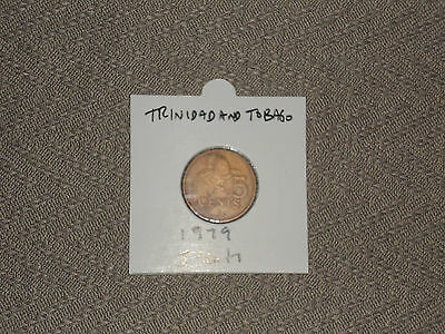1979 Trinidad and Tobago 5 cent coin - five cents