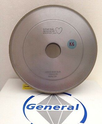 Borazon GRINDING WHEEL. General Ind. Diamond. USA.  1A1  7 x 3/4 x 1 1/4 x=
